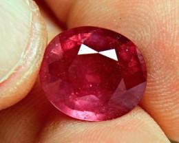 9.49 Carat Fiery Ruby - Superb