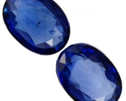 1.5 CTS ROYAL BLUE SRI LANKA SAPPHIRE PAIR [STS773]SAFE