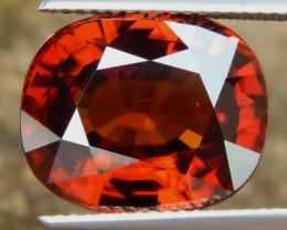 14.48cts,  Red Zircon,  Natural Stone, Unheated, VVS1