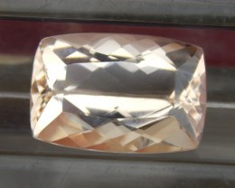 9.58cts,  Morganite,   VVS1 Eye Clean,  Luminous