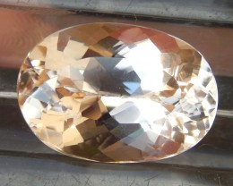 11.15cts,  Morganite,   VVS1 Eye Clean, Calibrated Luminious