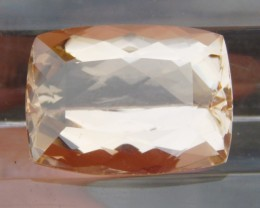 14.84cts, Certified  Morganite,  Clean,  Luminious,
