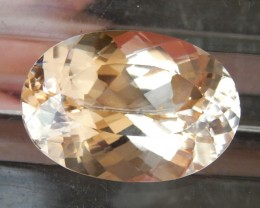 21.08cts,  Morganite,   VVS1 Eye Clean,  Luminious,