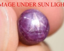3.95 Carats Star Ruby Beautiful Natural Unheated & Untreated
