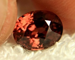 4.92 Carat VVS1 Raspberry Zircon - Gorgeous