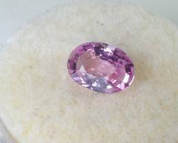 1.28 ct Sapphire - GIA Certified Purplish Pink Heat Only