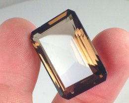 33.80 ct Smokey Quartz - Octagon cut