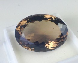 41.9 ct Smokey Quartz - Oval Cut