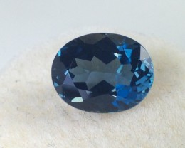3.65 ct Topaz - Oval Cut London Blue