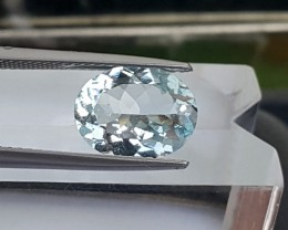 2.44cts Aquamarine, VVS1,  Untreated,