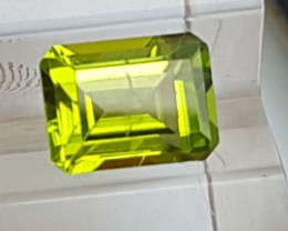 Peridot,  Bright Neon Color,  Well Cut, 100% Untreated
