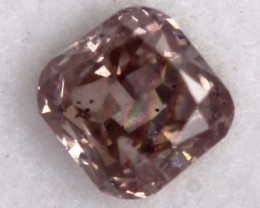 0.15CTS CERTIFIED PINK DIAMOND FACETED SD-266