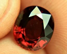 4.73 Carat VVS1 African Rhodolite Garnet - Gorgeous