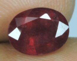 2.80 Cts Tremendous Pigeon Red Oval Shape Natural Madagascar Ruby