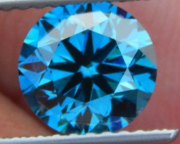 1.54cts, Blue Diamond,  Certified,  Top Quality,  High End Stone