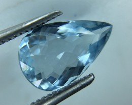 1.72 Ct Natural Aquamarine Awesome Luster and Cut Gemstone A21
