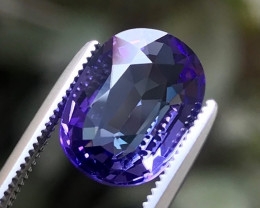 3.50 ct Brilliant Quality And Color Natural Tanzanite