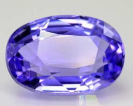 Beautiful Color 4.45 Ct  Natural Tanzanite ~ Great Quality