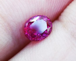 Unheated Ceylon HOT Pink Sapphire 0.50 Ct. Will look Amazing a Ring! (00683