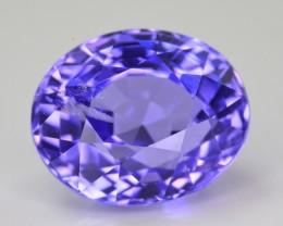 6.75 CT NATURAL TOP QUALITY RARE VIOLET BLUE TANZANITE GEMSTONE ~ JEWELLERY