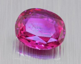 Unheated Ceylon HOT Pink Sapphire 0.60 Ct. Will look Amazing a Ring! (00678