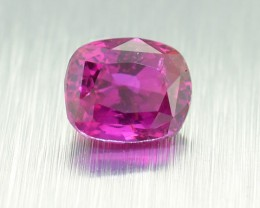 Unheated Ceylon HOT Pink Sapphire 0.63 Ct. Will look Amazing a Ring! (00681