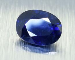 Natural Ceylon Deep Blue Sapphire, Oval Cut 1.42 Ct (00506)