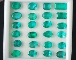 Natural Emerald - 21 ct - Wholesale Lot