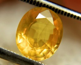 2.34 Carat SI Golden Yellow Sapphire - Gorgeous
