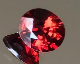 1.69ct Top Fire Mozambique Garnet - Gorgeous gem