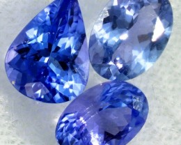 2.8 CTS TANZANITE  MIXED PARCEL - WELL CUT [STS803]