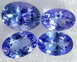 2.20 CTS TANZANITE  MIXED PARCEL - WELL CUT [STS808]