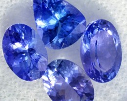 3.50 CTS TANZANITE  MIXED PARCEL - WELL CUT [STS809]