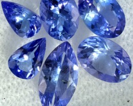 4.05 CTS TANZANITE  MIXED PARCEL - WELL CUT [STS814]