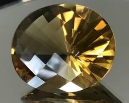 53.00ct Excellent Fancy Cut Cognac Gold natural Citrine VVS