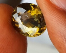 3.90 CTS SPLENDID RARE NATURAL YELLOW TOURMALINE MOZAMBIQUE