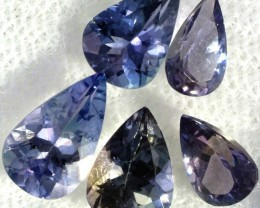 2.9 CTS TANZANITE  'OCEAN' PARCEL - WELL CUT [STS820]