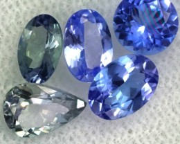 2.8 CTS TANZANITE  'OCEAN' PARCEL - WELL CUT [STS821]