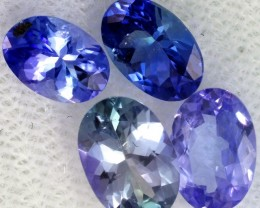 2.4 CTS TANZANITE  'OCEAN' PARCEL - WELL CUT [STS823]