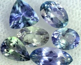 2.8 CTS TANZANITE  'OCEAN' PARCEL - WELL CUT [STS826]