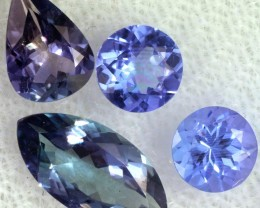 2.7 CTS TANZANITE  'OCEAN' PARCEL - WELL CUT [STS827]