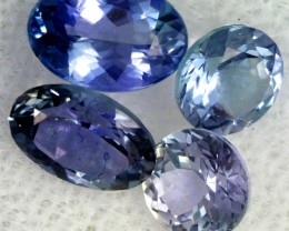2 CTS TANZANITE  'OCEAN' PARCEL - WELL CUT [STS828]