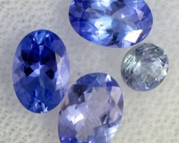 2 CTS TANZANITE  'OCEAN' PARCEL - WELL CUT [STS831]