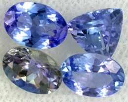 2.5 CTS TANZANITE  'OCEAN' PARCEL - WELL CUT [STS832]