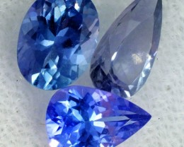 2.2 CTS TANZANITE  'OCEAN' PARCEL - WELL CUT [STS833]