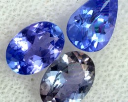 2.3 CTS TANZANITE  'OCEAN' PARCEL - WELL CUT [STS834]