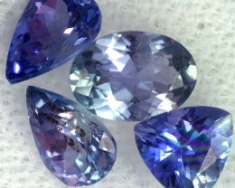 2 CTS TANZANITE  'OCEAN' PARCEL - WELL CUT [STS835]