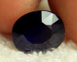 6.75 Carat Midnight Blue Sapphire - Beautiful