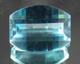 2.66ct Opposing Bar Cut Topaz