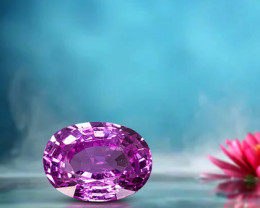2.42ct Pink Sapphire